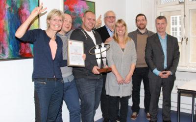 midtVask vinder Årets Læreplads 2015