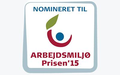 midtVask nomineret til ArbejdsmiljøPrisen 2015
