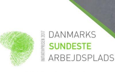"""MidtVask er regionsvinder af """"Danmarks Sundeste Arbejdsplads – Initiativprisen 2017"""""""